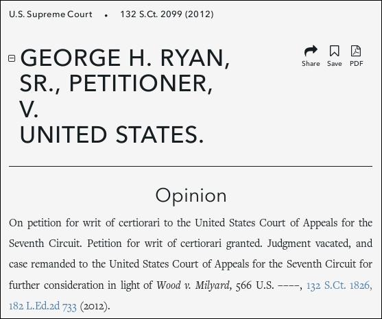 Ryan V Us Alschuler V Easterbrook Record Judicial